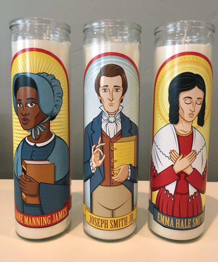"""""""Mormon Prayer Candles"""""""